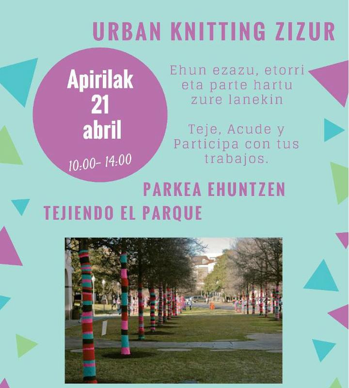El 21 de abril… el Parque Erreniega se vestirá de gala… con tu ayuda