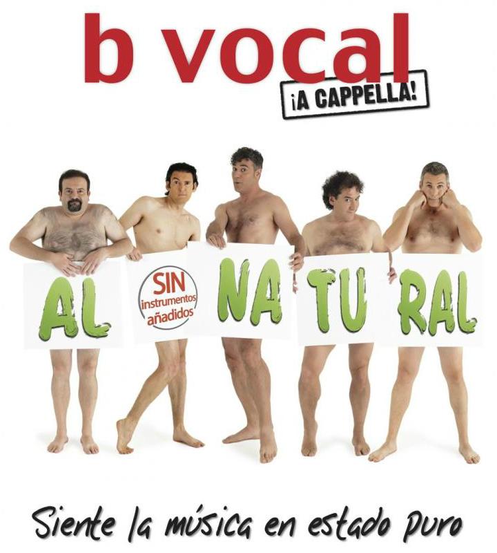"""""""Al  natural"""",  b  vocal"""